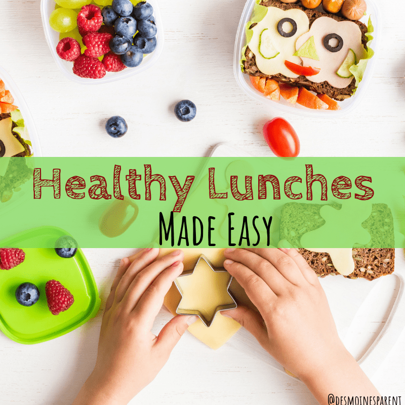 healthy lunches, healthy lunches made easy, back to school, healthy food