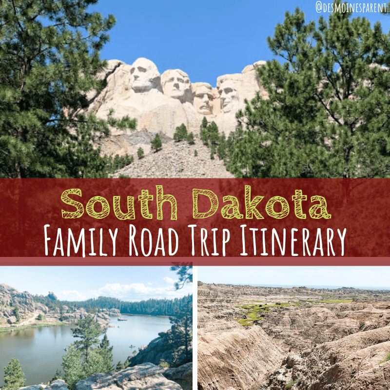 South Dakota Family Road Trip Itinerary