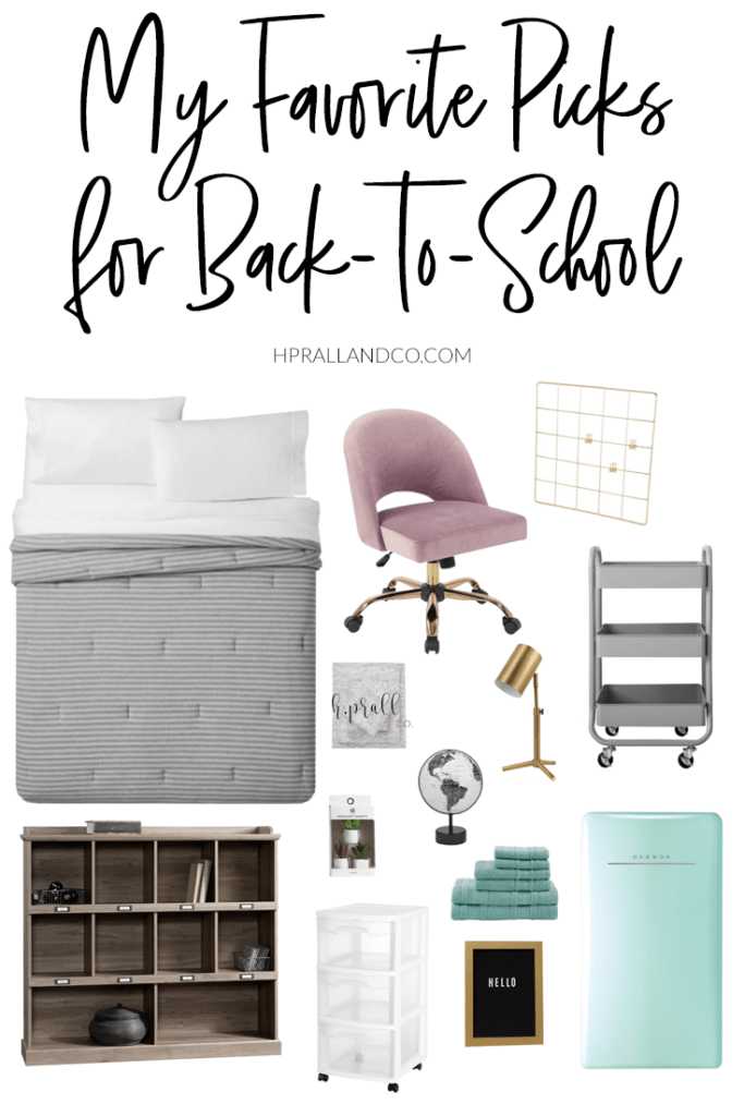 Hilary Prall, owner of H. Prall & Co. favorite picks for back-to-school.