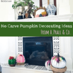 H. Prall & Co. | No Carve Pumpkin Decorating Ideas