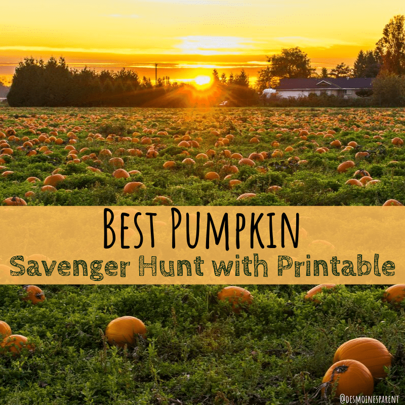 The Best Pumpkin Scavenger Hunt