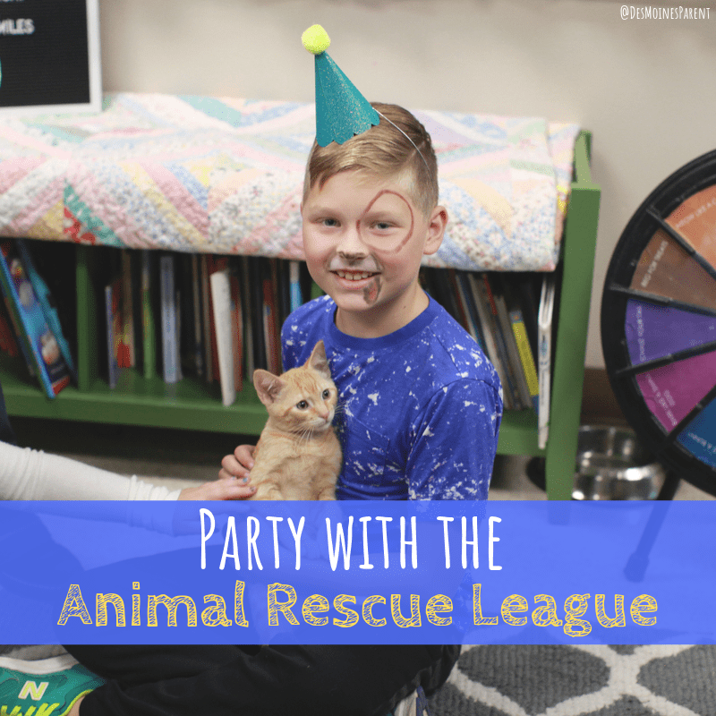 Party with the Animal Rescue League
