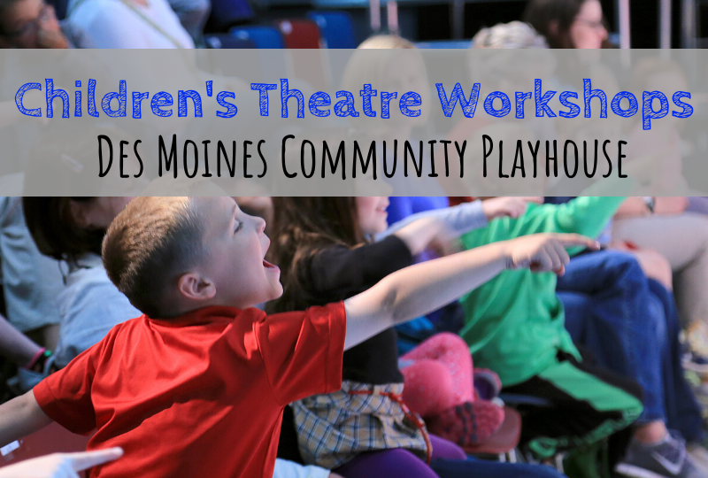 Des Moines Playhouse, Des Moines Community Playhouse, Friday Funday, Spectrum Stories, children's theatre, Des Moines, Iowa