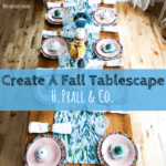 H. Prall & Co., fall, fall tablescape, home decor, fall decorating, home decorating