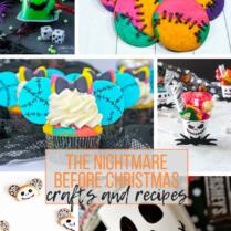 The Nightmare Before Christmas, Halloween, arts, crafts