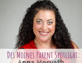 Des Moines Parent Spotlight, Des Moines, Anna Horvath, Grace Ballet & Acrobatics, dance teacher, ballet