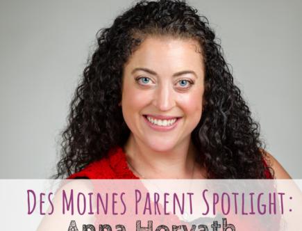 Des Moines Parent Spotlight, Des Moines, Anna Horvath, Grace Ballet & Acrobatics, dance teacher, ballet