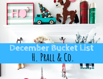 December Bucket List, bucket list, holidays, Christmas, H. Prall & Co.