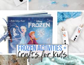 Frozen, Frozen 2, Frozen crafts, Frozen activities, crafts, activities, Olaf, Elsa