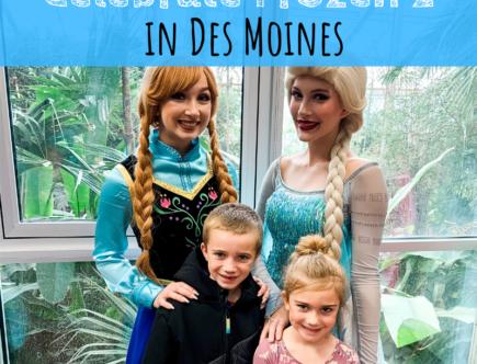 Frozen 2, Des Moines, Iowa, Elsa, Anna, activities, events