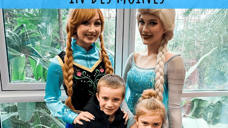 Celebrate Frozen 2 in Des Moines, Iowa