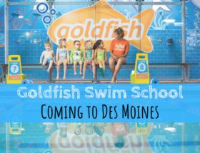 Goldfish, Goldfish Swim School, Des Moines, Iowa, Urbandale, swim lessons, birthday parties