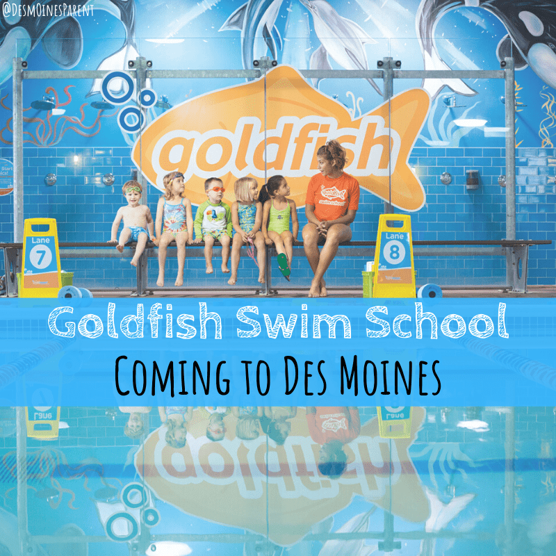 Goldfish Swim School Coming to Des Moines