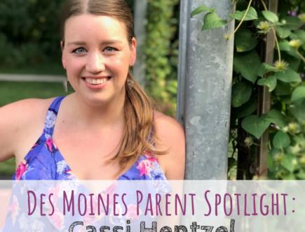 Des Moines Parent Spotlight, Cassi Hentzel, Centered Seasons Planner, Des Moines, mom
