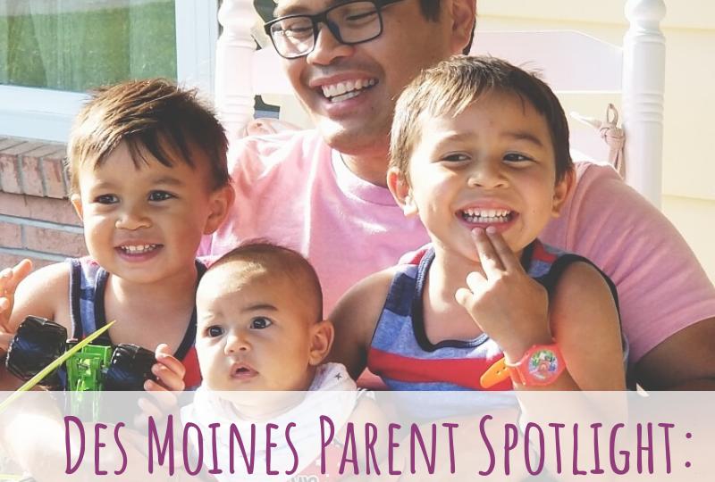 Des Moines Parent Spotlight, Des Moines dad, Farfum Ladroma