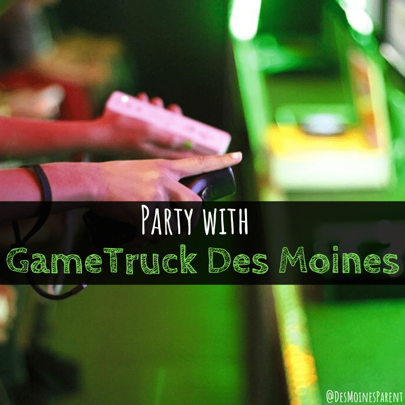 party with GameTruck Des Moines, Video games, GameTruck, GameTruck Des Moines, Iowa, Game Truck, birthday party, birthday parties, Nintendo