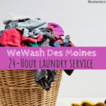 WeWash Des Moines, WeWash DSM, Des Moines, Iowa, laundry service in Des Moines, laundry, dry cleaning