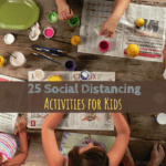 Social distancing, corona virus, COVID-19, children's activities, art and crafts, indoor activities, family fun