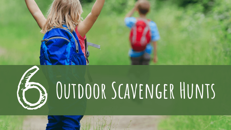 6 Outdoor Scavenger Hunts for Families
