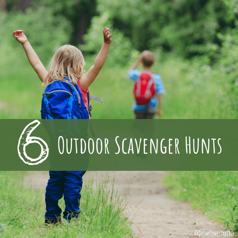 6 Outdoor Scavenger Hunts for Families