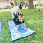 Goat Yoga, bucket list, yoga, goats, Howell's Greenhouse, Cumming, Iowa, Des Moines, outdoors