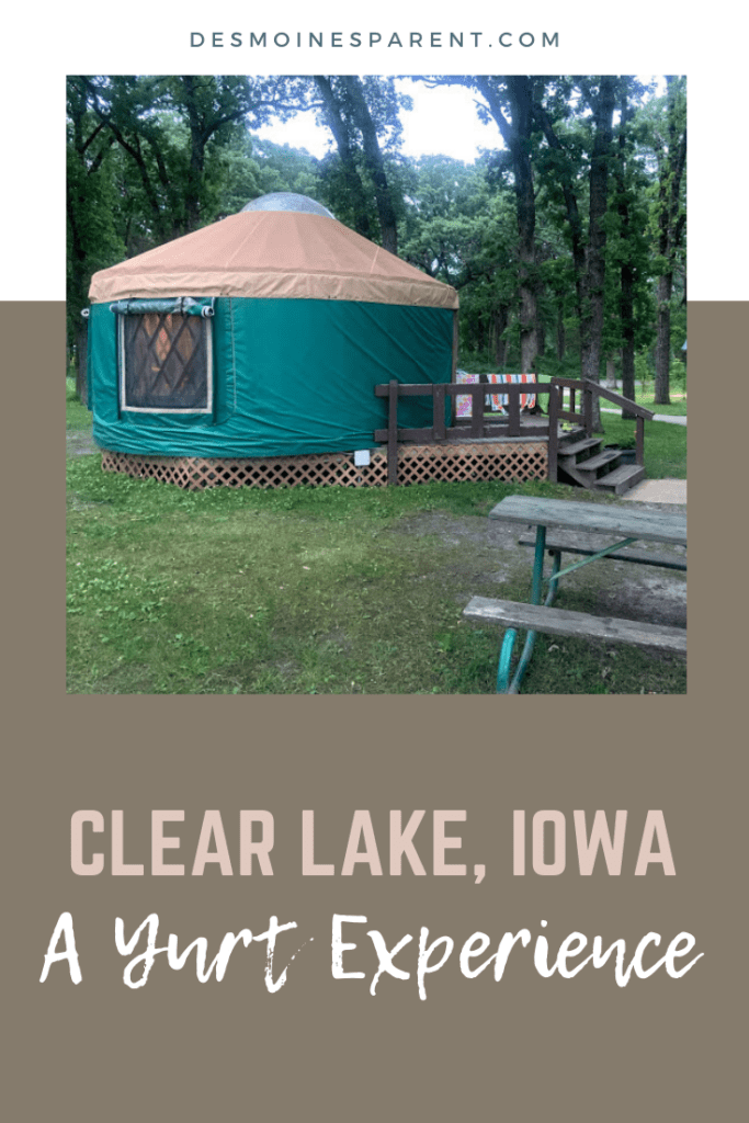 Clear Lake, Iowa, McIntosh Woods State Park, yurts, yurt camping, camping, fishing, boating