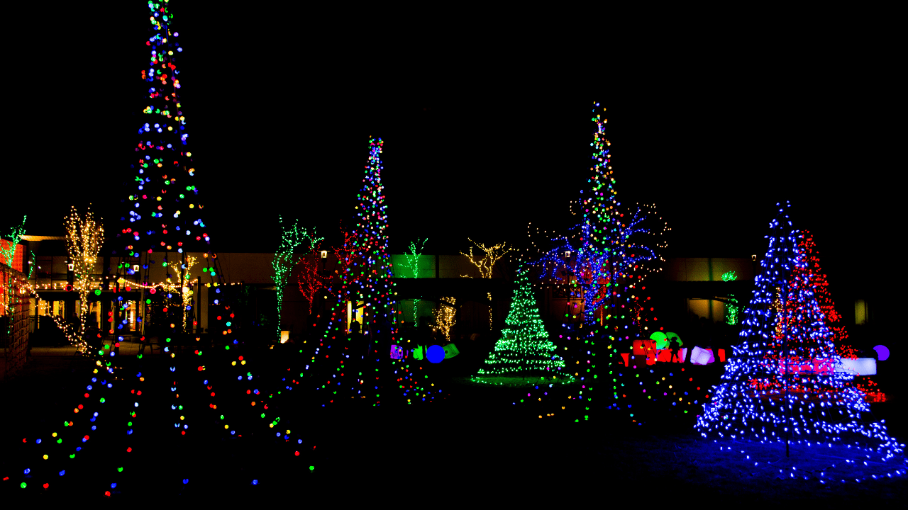 Christmas Lights in Des Moines
