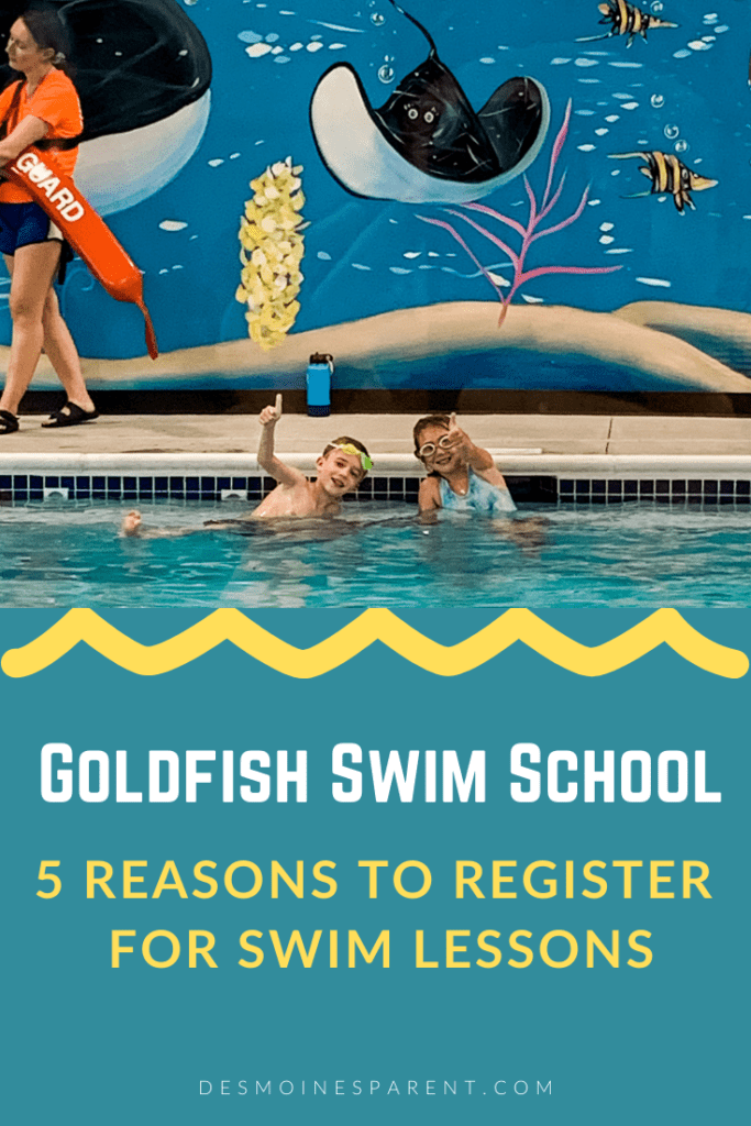 Goldfish Swim School, swim lessons, Des Moines, Iowa, Urbandale, swim safety, swimming