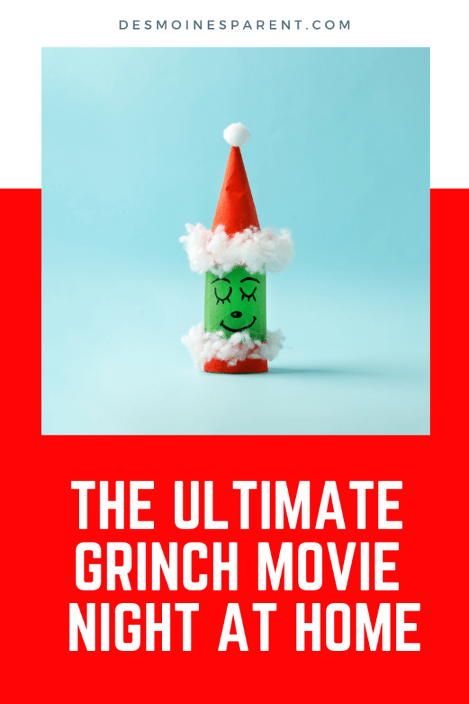 How the Grinch Stole Christmas, Grinch party, Grinch Movie Night, Christmas, Family Movie Night