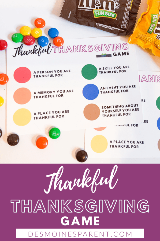 Thankful, Thanksgiving, Thanksgiving Game, family games, Thankful Thanksgiving Game, grateful