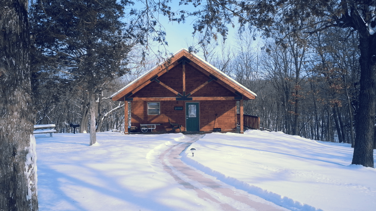 Staycation with Polk County Conservation Cabins