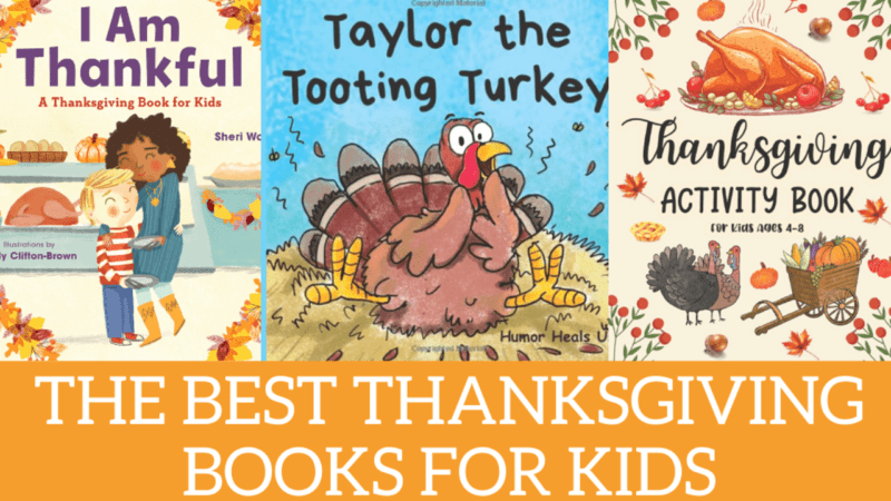 Best Turkey + Thanksgiving Books for Kids