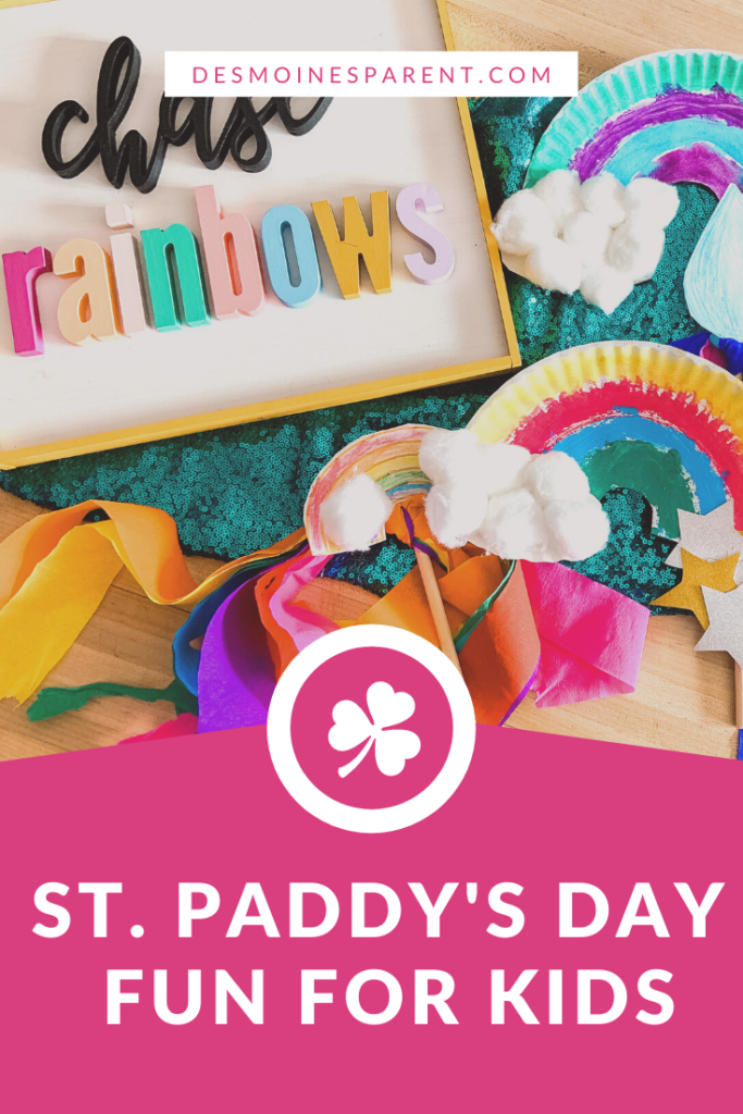 St. Paddy's Day, St. Patrick's Day, Saint Patrick's Day crafts, kids activities, kids recipes, St. Patrick's Day crafts, DIY, rainbow crafts