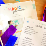 The Magic Playbook, kids crafts, diy, printables, subscription service, printable service, kids crafts, kids activities, sensory, recipes