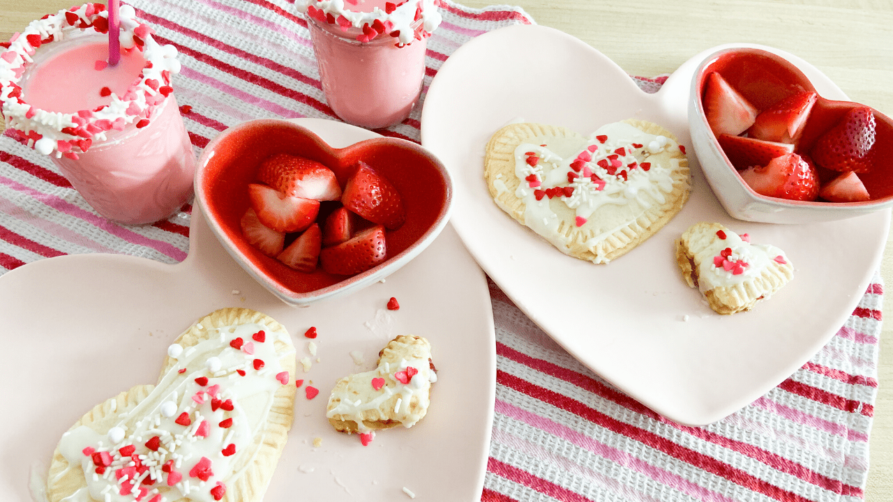 Sweet Valentine's Day Breakfast
