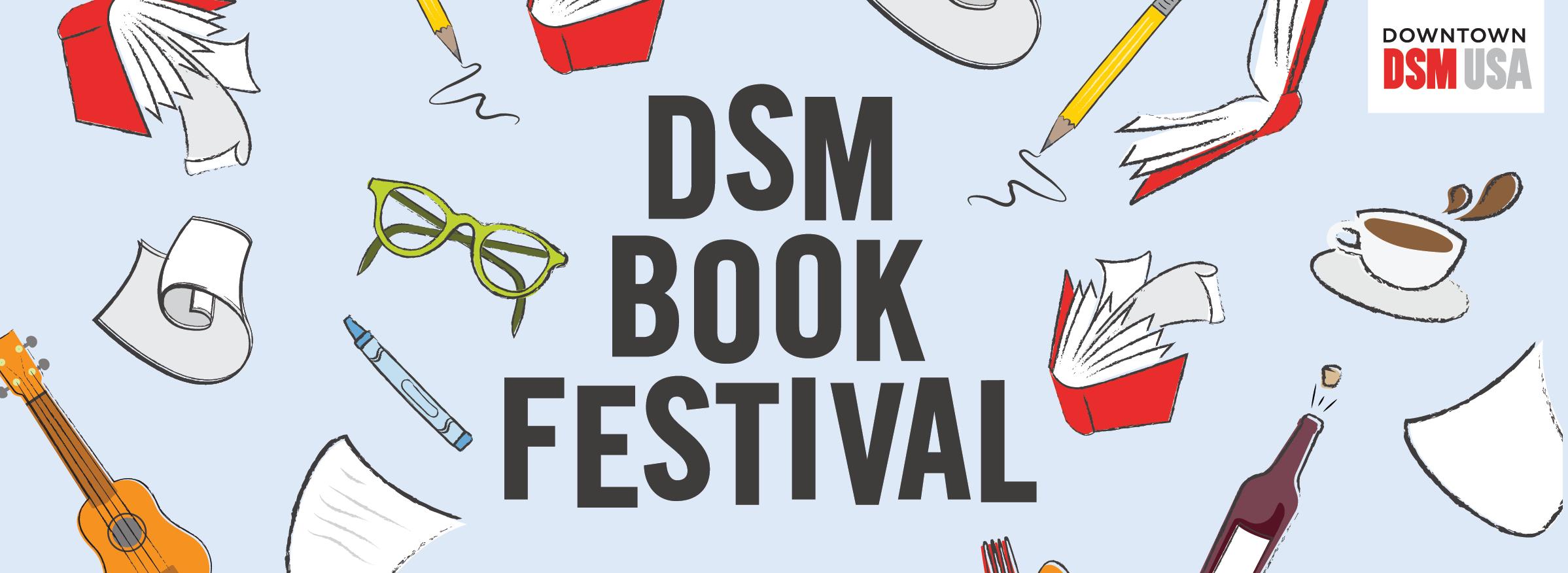 Hybrid DSM Book Festival Returns for 2021