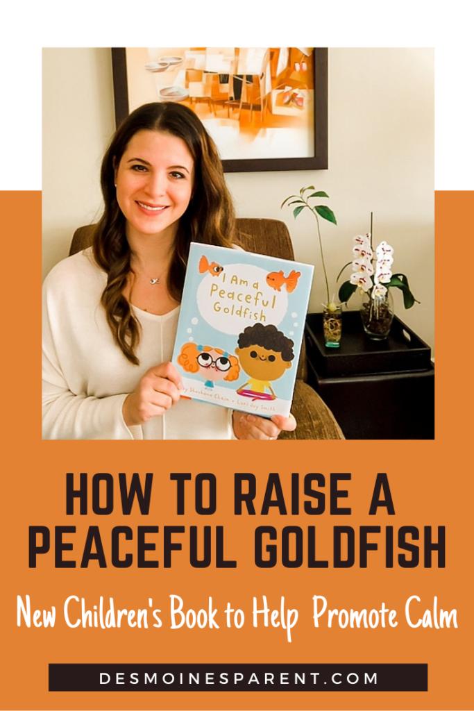 Peaceful Goldfish, I Am a Peaceful Goldfish, Shoshana Chaim, children's books, mental health, children's health