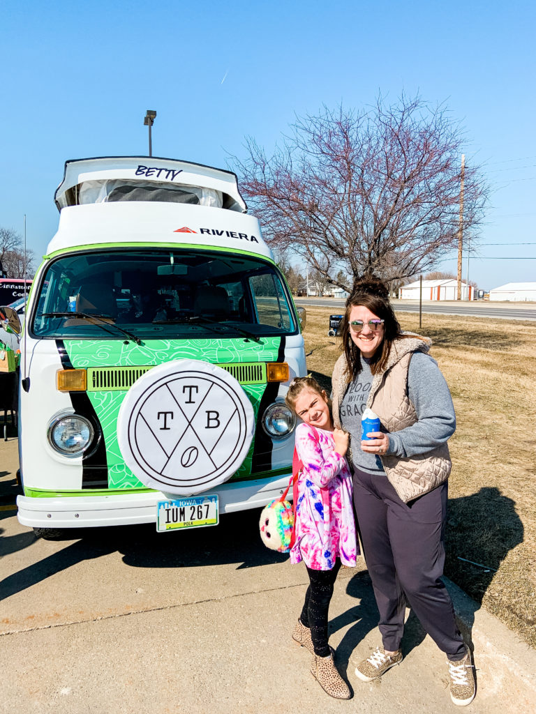 The Traveling Bean Co., Des Moines, Iowa, local coffee, traveling coffee
