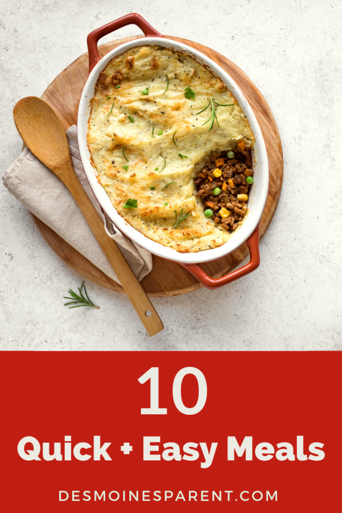 quick meals, easy meals, family dinner, easy recipes, quick and easy meals