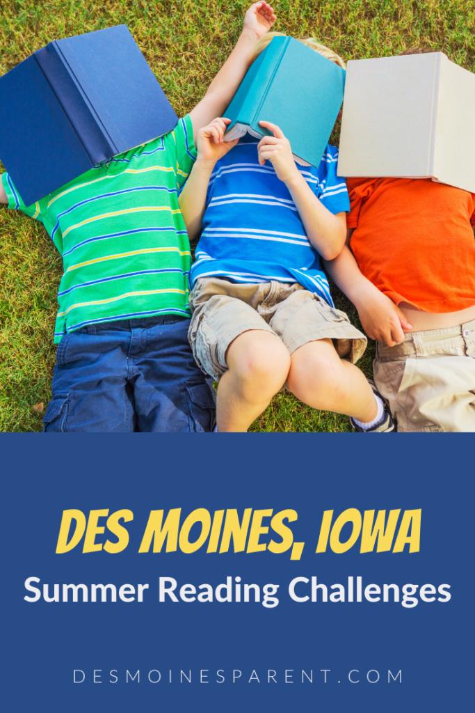 Summer Reading Challenge, Summer Reading Program, Des Moines, Iowa, kids reading, reading