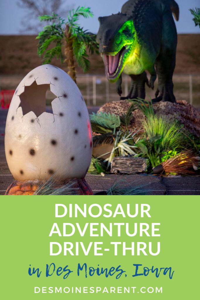 Dinosaur Adventure, Dinosaur Adventure Drive-Thru, Adventureland, Des Moines, Iowa, things to do, Kids activities