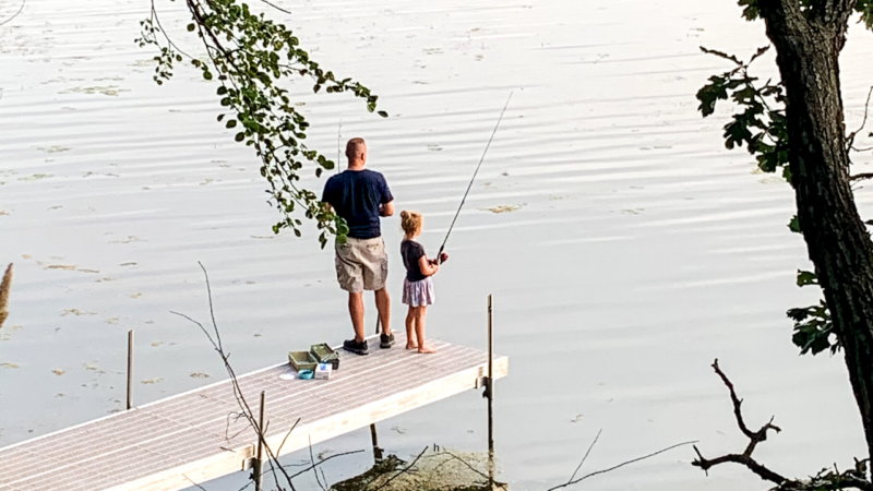 Free Fishing in Des Moines