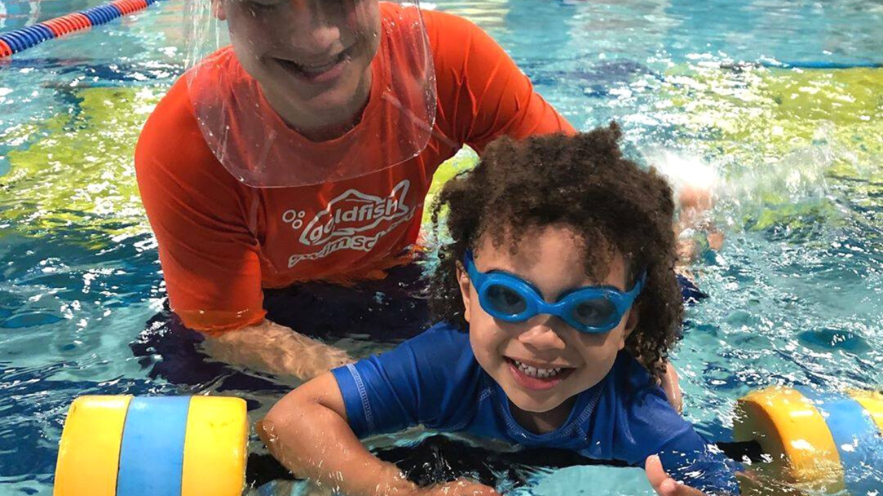 Take the Goldfish Swim School Urbandale Safer Swimmer Pledge!