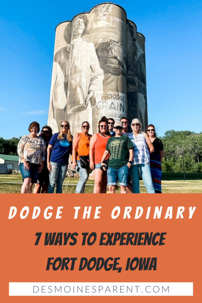 Fort Dodge, Iowa, travel Iowa, Midwest, Fort Dodge outdoors, Dodge the Ordinary, Dolliver State Park, Grain Bin Mural