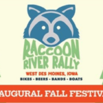 Raccoon River Rally, West Des Moines, Iowa, Fall Festival, Des Moines things to do, bike ride, food trucks